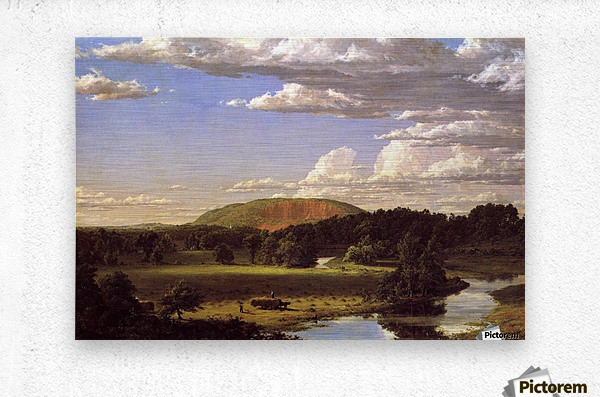 West Rock New Haven 1849  Metal print
