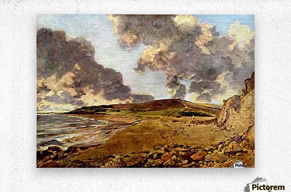 Weymouth Bay, 1816  Metal print