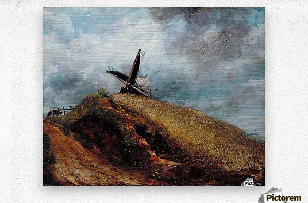 A Windmill near Brighton  Metal print
