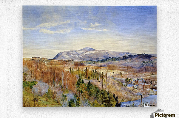 Mt. Everett from Monument Mountain  Metal print