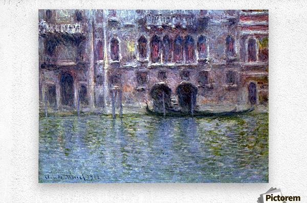 Palazzo da Mula, Venice by Monet  Metal print