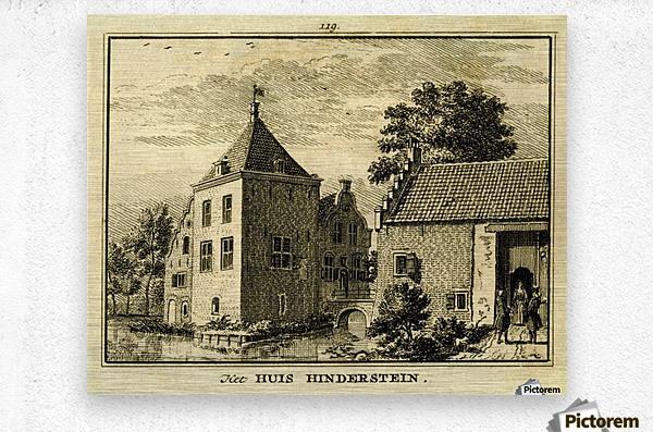 Huis Hinderstein  Metal print
