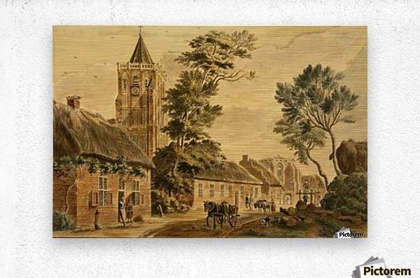 View of Sambeek  Metal print