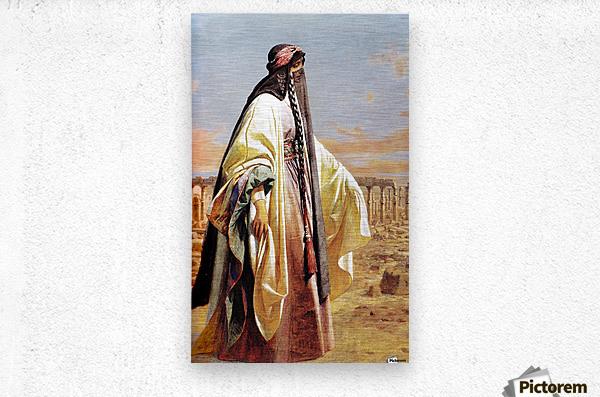 Jane Digby In Palmyra 1859  Metal print