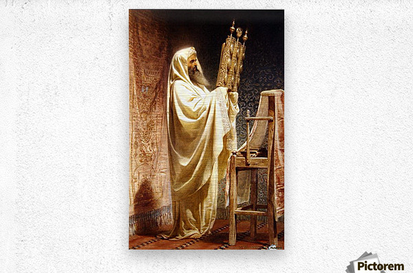 The High Priest of the Samarian  Metal print