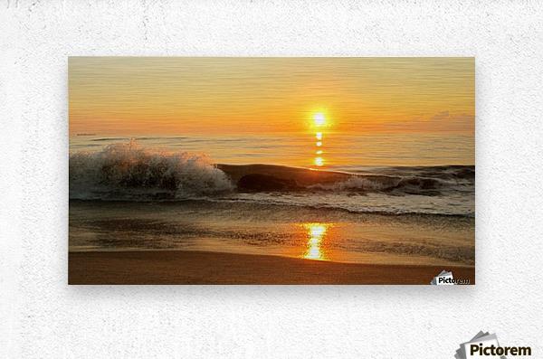 Ocean Rising  Metal print