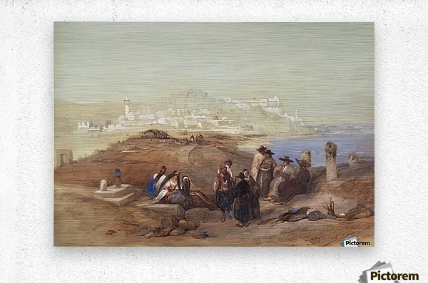 Jaffa, View from South  Metal print