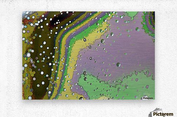 Raindrops 4    Metal print
