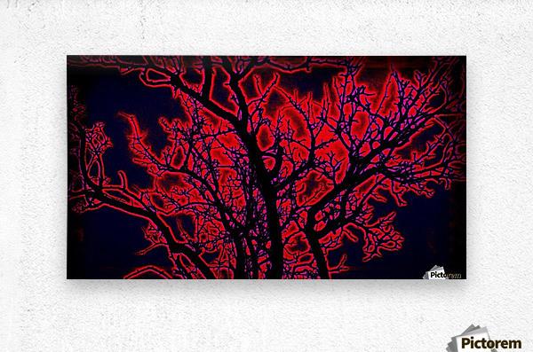 burningtree  Metal print
