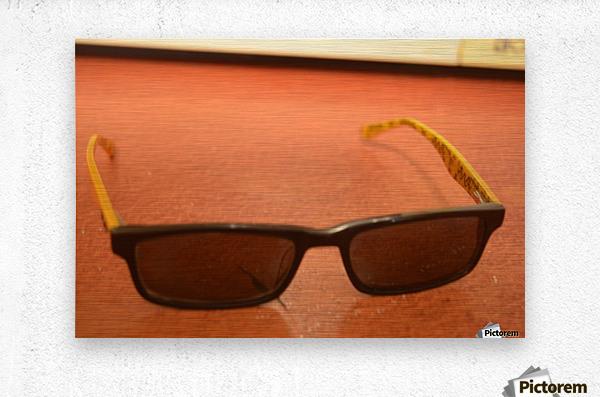 Sun glasses  Metal print