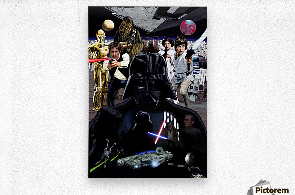 Star Wars   Metal print