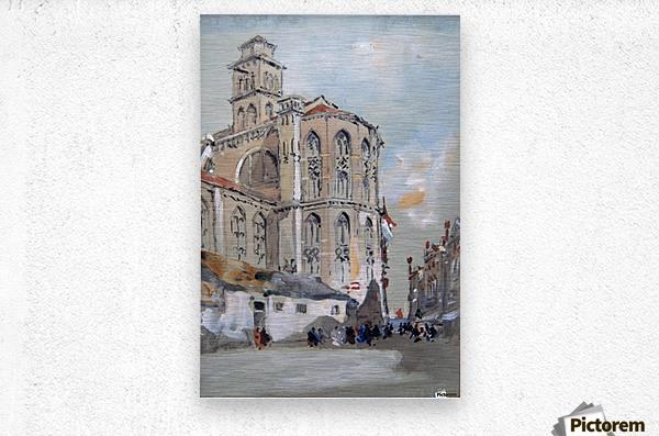 Church of Santa Maria Gloriosa de Frari, Venice  Metal print