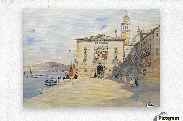 Murano, near Venice  Metal print