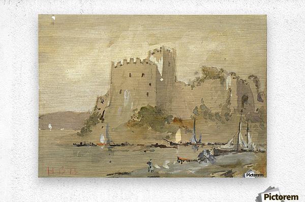 Chepstow Castle  Metal print