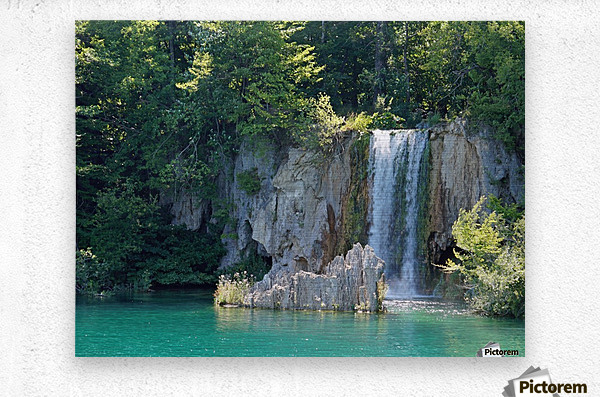 waterfall - Plitvicer lakes-nationalpark  Metal print