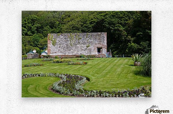 Victorian Walled Garden , Kylemore Abbey, Ireland,  Metal print