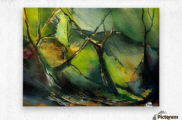 Inner landscape   Metal print
