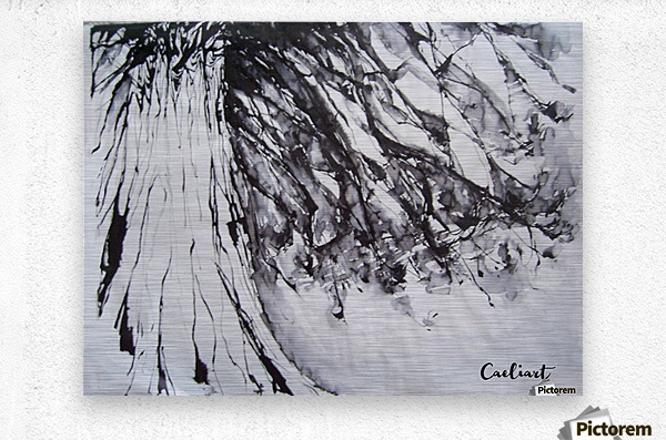 Ancient pinetree  Metal print