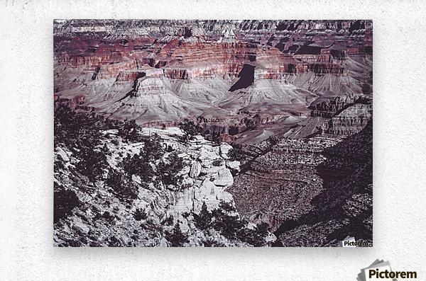at Grand Canyon national park, USA  Metal print