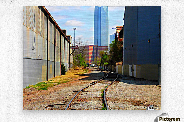 Rails2Jails- Original  Metal print