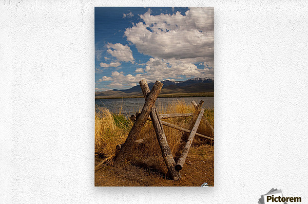 ©Lou Freeman Wild West Landscape 1020 40  Metal print