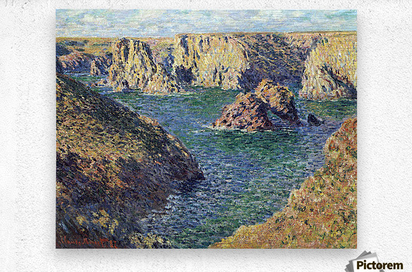 Port-Donnant by Monet  Metal print
