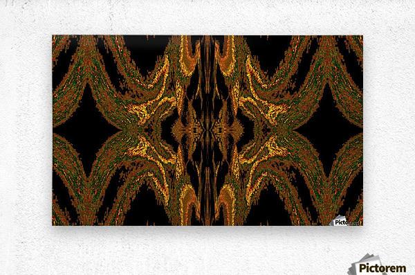 Hidden Butterfly 2  Metal print