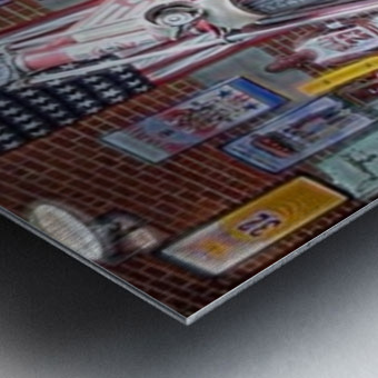 Opolis clothing Store- OKC Metal print