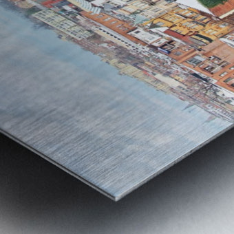 City Roof Tops  Metal print