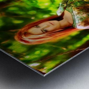 TREEgirl2 Metal print