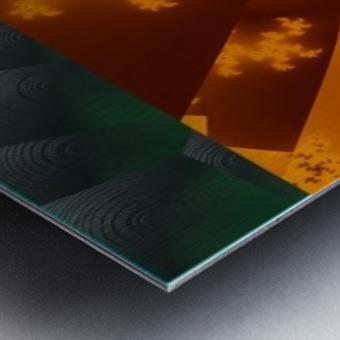 A Return thro' Space & Time Metal print