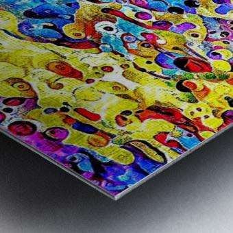 blurose Metal print