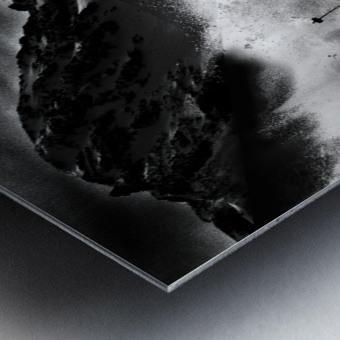Dark Freeride Metal print