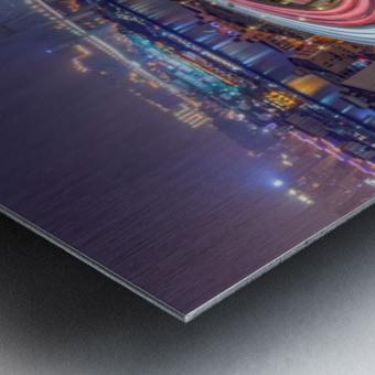 The Nanpu Bridge Metal print