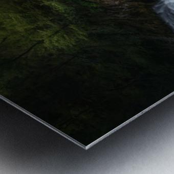 Gorge 1. Metal print