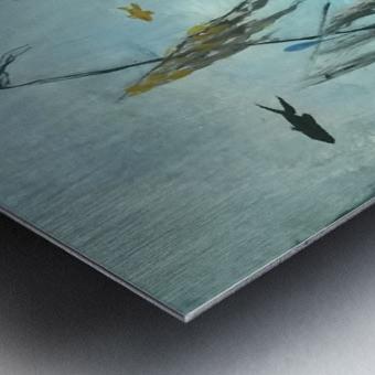 under sea Metal print