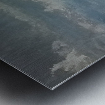 moon aura Metal print