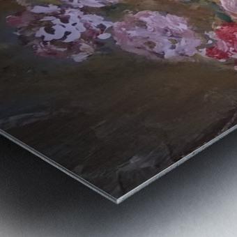 flowers vase Metal print