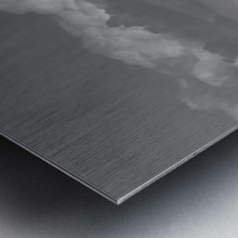 Cloud blower Metal print