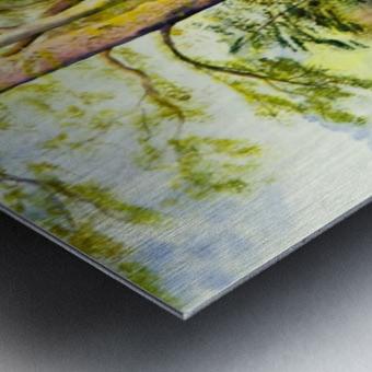 Shady Lane  Metal print
