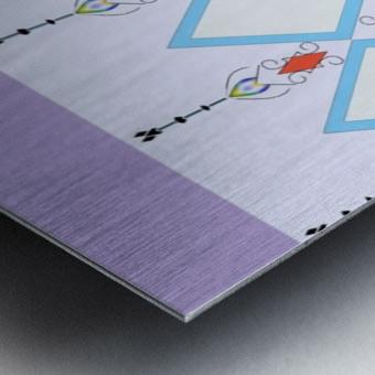 Pastel Pattern 1 Impression metal