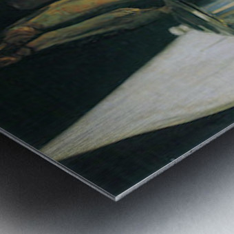 Still Life with Herrings by Felix Vallotton Metal print