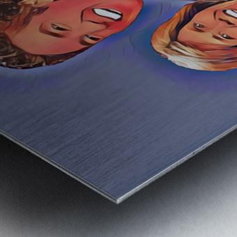 C014 Metal print