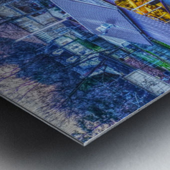 Lonoke, AR | Jackrabbit Dairy Bar  Metal print