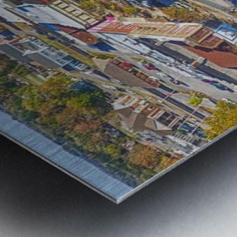Lawrenceburg, TN | The Old Square Metal print