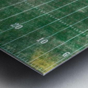 North Little Rock, AR   Mustang Football Field Metal print