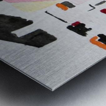 My Postcode Metal print
