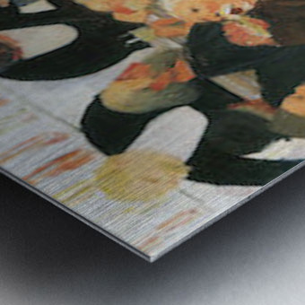 The bistro by Felix Vallotton Metal print