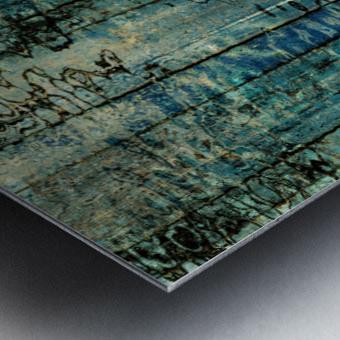Behind The Rain Metal print