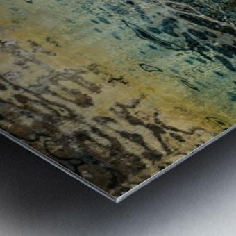 Armonk Snowmelt Metal print